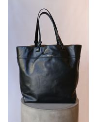 Étoile Isabel Marant Seyroh Large Studded Leather Tote In Black
