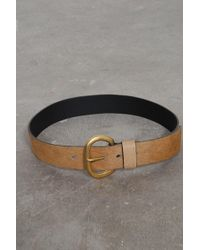 Rachel Comey - Calf Hair Estate Belt In Camel - Lyst