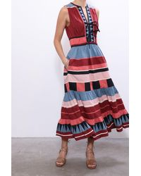 Ulla Johnson Kaiya Dress In Rose - Red