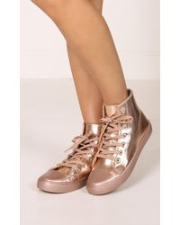 Showpo - Qupid - Narnia In Rose Gold Metallic - Lyst