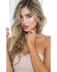 Showpo - Reconnect Bangle In Gold - Lyst