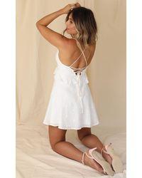 Showpo Miss Me Dress - White