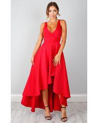 Showpo - Magic Dancer Dress In Red - Lyst