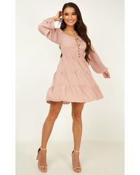 Showpo New Roads Dress - Pink
