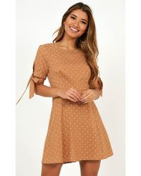 Showpo - Too Cute For You Dress - Lyst