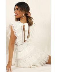 Showpo Dream For Days Dress - White