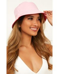 Showpo Know The Feeling Bucket Hat - Brown