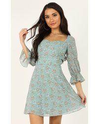 Showpo Fortunate Life Dress - Multicolour