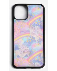 Showpo Unicorns Iphone Case - Multicolor