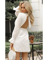 Showpo Rock Springs Dress - White