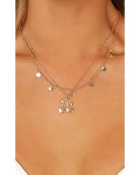 Showpo - Showing Off Necklace - Lyst