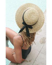 Showpo - Sail Away Hat In Natural - Lyst