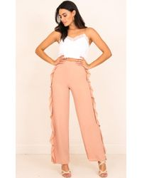 Showpo | More And More Pants In Mocha | Lyst