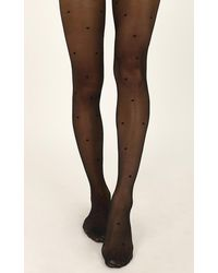Showpo Deal With It Stockings - Brown