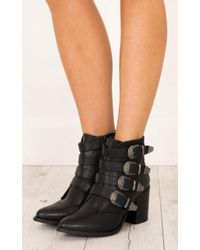 Showpo - Therapy Shoes - Bexar In Black - Lyst