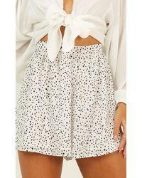 Showpo Spot And Go Shorts - White