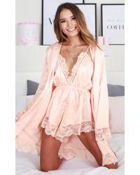 Showpo Bad Medicine Robe - Pink