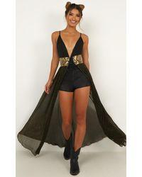 Showpo Bad Girls Do It Well Skirt - Black