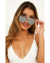 Showpo - Quay - Get Right Sunglasses - Lyst