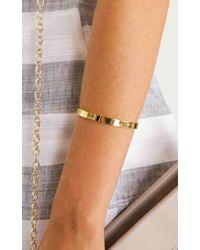 Showpo - All Hands On Deck Cuff In Gold - Lyst