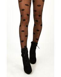 Showpo This Time Around Stockings - Brown