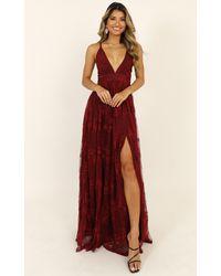 Showpo Prom Loving Dress - Red