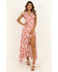 Showpo Curating Love Maxi Dress - Pink