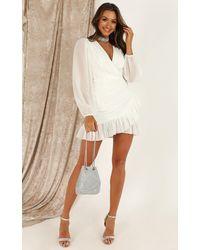 Showpo Can I Be Your Honey Dress - White