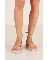 Showpo - Therapy - Dauphin In Camel - Lyst