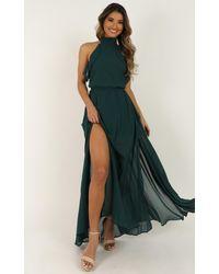 Showpo Melt Away Dress - Green