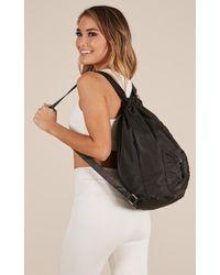Showpo - Has To Be True Bag In Black - Lyst
