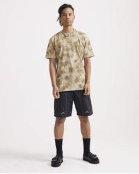 1017 ALYX 9SM Cut-out Graphic Print T-shirt - Natural