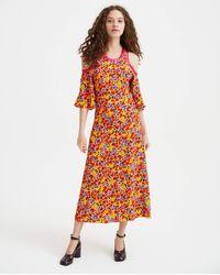 Marni - Floral Dress - Multi - Lyst
