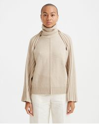 Peter Do Grace Sweater - Oatmeal - Natural