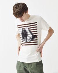 JW Anderson - Durer Feet Patch T-shirt - Lyst