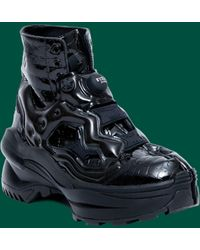 Maison Margiela Reebok Insta Pump Ankle Boot - Green