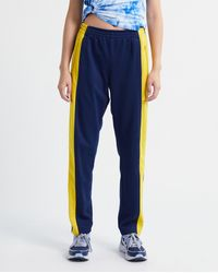Colville Upcycled Joggers - Multi - Blue