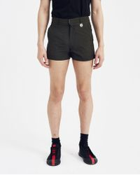 Xander Zhou Cropped Short - Black