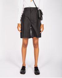 Maison Margiela Tailored Shorts - Grey
