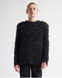 Martine Rose Box Shoulder Knit - Black