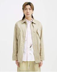 1017 ALYX 9SM Tailoring Cargo Shirt - Tan - Natural
