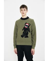 Liam Hodges - Embroidered Knit Sweater - Lyst