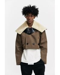 Xander Zhou - Cropped Buttoned Jacket - Lyst