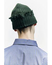 Liam Hodges - Green Knit Beanie - Lyst
