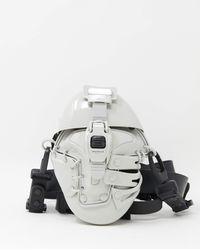 Innerraum Object I09 Body Bag - Plaster Shiny - Black