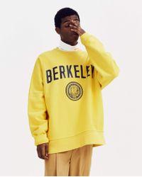 CALVIN KLEIN 205W39NYC Oversized Berkeley Sweater - Yellow