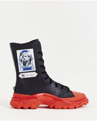 adidas By Raf Simons Detroit High Boot - Blue