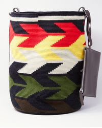 Colville Cylinder Arrows Maxi Bag - Red / Green