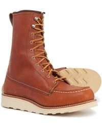 Red Wing 8? Moc-toe Boots - Brown
