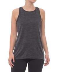 7eff0e275a Lyst - Gaiam Shilo Compression Strappy Bra Tank Top in Black